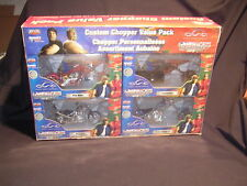 New Orange County Choppers Custom Chopper Value Pack, Die Cast, Free Ship!