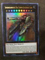 Yugioh Train 28 Card Deck Core Cannon Juggernaut Liebe Super Express Bullet LED4