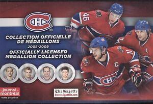 2008-09 MONTREAL CANADIENS MEDALLION CENTENNIAL 100th NHL HOCKEY COIN SEE LIST