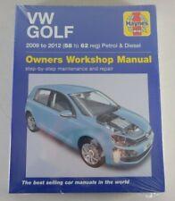 Reparaturanleitung VW Golf V / 5 Benzin + TDI / Diesel, Baujahr 2009 - 2012