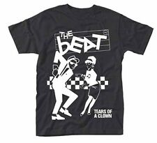 The Beat (ska) Tears Of A Clown T Shirt (Black) New & Official Band Product