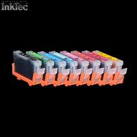 Remplissable Cartouches de Recharge Encre Patron L'Imprimante Pour Canon Pixma