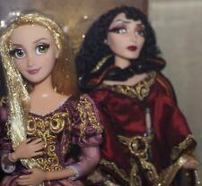 Disney Fairytale Designer Rapunzel and Mother Gothel Limited Edition Doll Set