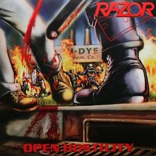 Razor ‎– Open Hostility LP / New Yellow Red Splatter Vinyl (2014) Thrash Metal