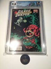 Silver Surfer #1 CGC 9.8 Skottie Young Variant, VHTF Low Census Young Doom Label