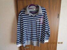 Damen-Langarm-Shirt gestreift Gr. 52