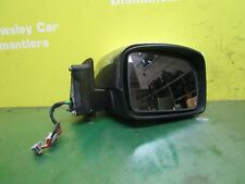 RANGE ROVER SPORT L320 (05-13) OSF DRIVER WING MIRROR ELECTRIC FOLDING CHROME