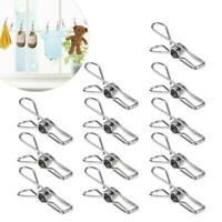 20 STAINLESS STEEL ECO ENVIRONMENT FRIENDLY CLOTHES PEGS NEVER BUY PEGS AGAIN