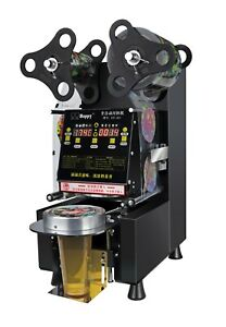 Commercial Fully Automatic Bubble Tea Cup Sealing Machine,Plastic Cup Sealer