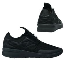 d24426abe914 Supra Flow Run Evo Lace Up Mens Casual Running Trainers Black 08342 001 D92