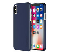 Genuine Incipio Feather iPhone XS & X TOUGH Slim Thin Snap On Case Cover Blue