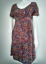 WHITE STUFF casual dress size 8 --USED ONCE-- knee length short sleeve