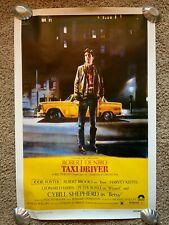 Vintage Taxi Driver - Movie Poster - 24x36 - Robert De Niro - Jodie Foster