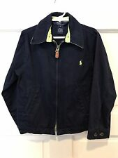 Polo by Ralph Lauren Boy's Size 5 Classic Navy Blue Coat Jacket