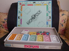 1985 Parker Bros. Monopoly Game Vintage Game with Original Box