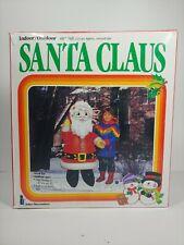 "Vintage Santa Claus by Intex 48"" Inflatable Blow Up Christmas/Holiday 1987"