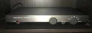 Musical Fidelity A1 Integrated Class A Amplifier With Manual