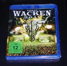 LIVE AT WACKEN 2011 LOUDER THAN HELL BLU RAY SCHNELLER VERSAND NEU & OVP