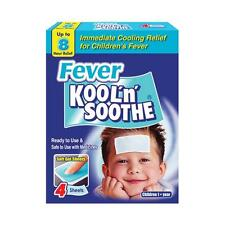 Migraine Fever Kool'n'Soothe 4 Gel Sheets For Children Up To 8 Hours Relief