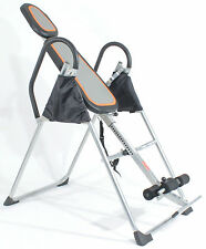 REBOXED Gym Master Inversion Table Invert Align Exercise Bench in Black Silver