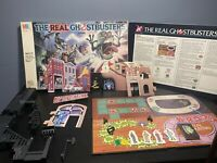 Vintage 1986 Milton Bradley 4608 THE REAL GHOSTBUSTERS Board Game Incomplete