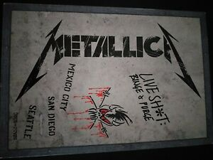 Metallica CD Live Shot