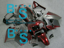 Red Glossy ABS Fairing VFR800 Kit Fit HONDA VFR 800 1999 2000 1998-2001 18 A1