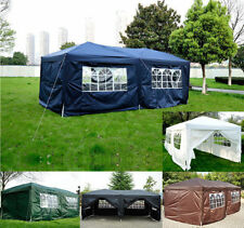 More details for 6m x 3m garden heavy duty pop up gazebo marquee party tent wedding canopy new