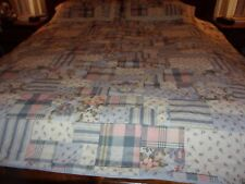 New in package Style Expressions Quilt set 1 quilt 2 shams full/queen size blue