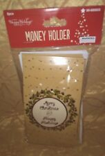 """Christmas Gift Card Money Holders With Envelopes """"Merry Christmas """""""