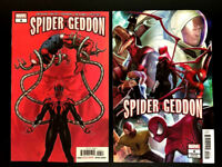 Spider-Geddon 4 Main + In-Hyuk Lee Connecting Variant Set Marvel 2018 NM+