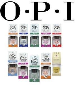 OPI Nail Envy Nail Strengthener FULL RANGE - 9 TYPES - 15 mL BOXED