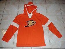 Old Time Hockey Anaheim Ducks NHL Hockey Hoodie Pullover Jacket Adult Small