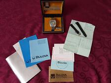 BULOVA Accutron Spaceview, Factory Original, solo serviti, in scatola con documenti.