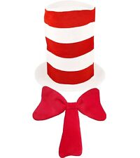 Seuss Thing 1 and 2 Fancy Dress Costume Red Fancy Dress Outfit 5-8 years Dr