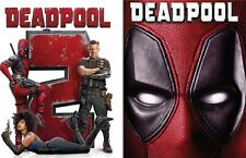 Deadpool 1 and 2 DVD Set (Pack Combo Box Set) - New! Free Ship!