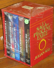 Fiction: SAGA OF THE PLIOCENE EXILE by Julian May. 1984. Signed, limited, boxed