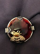 Dolce Gabbana statement crystal Bee ring AMAZING ! NWOT retail $500 +tax !