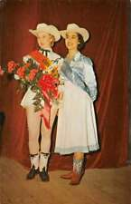 Mercedes Texas Cover Girl Winners Live Stock Show Vintage Postcard K69195