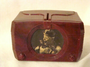 Vintage EMERSON ULTRAWAVE TELEVISION Promotional Coin Bank