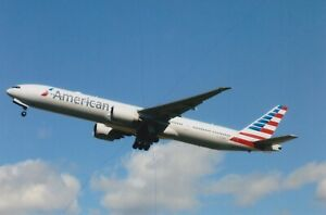 AIRCRAFT PHOTO CIVIL PLANE PICTURE AMERICAN AIRLINE BOEING 777 PHOTOGRAPH N720AN