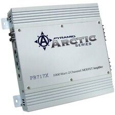 PYRAMID PB717X Arctic Series 2-Channel Bridgeable MOSFET Amp (1,000 Watts)