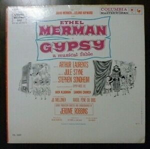 Ethel Merman - Gypsy: A Musical Fable - 1959 U.S Mono 1st Press - EX/EX Vinyl LP