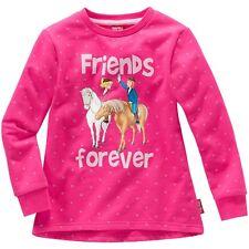 "Kinder Mädchen Pullover Bibi und Tina ""friends forever"" Sweater Pulli Pink ""NEU"""