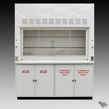NEW 6' Chemical Laboratory Fume Hood w/ Flammable Acid Storage Cabinets-
