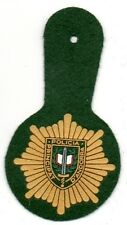 parche ANDORRA PEPITO PVC POLICIA police patch