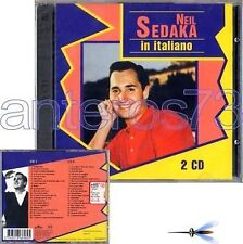 "NEIL SEDAKA ""IN ITALIANO"" RARE 2CD ITALIAN SUNG LIMITED"