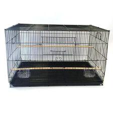 Flyline Bird Flight Breeding Cage L30xW18xH18 Black or White