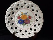 "Wechsler  Austria  Hand Painted HANDBEMALT 428BD - 9.5"" Plate  Beautiful!"