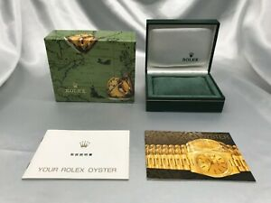 Genuine ROLEX empty watch box 11.00.71 Booklet authentic 1013002 A215